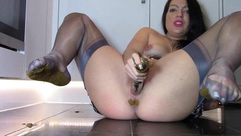 Evamarie88 - Eat My Shit And Worship My Smelly Feet [FullHD, 1080p] [ScatShop.com]