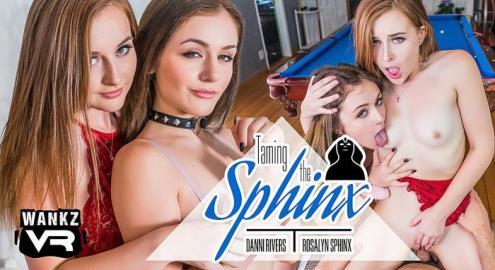 Danni Rivers, Rosalyn Sphinx - Taming The Sphinx (01.12.2018/WankzVR.com/3D/VR/UltraHD 2K/1600p)