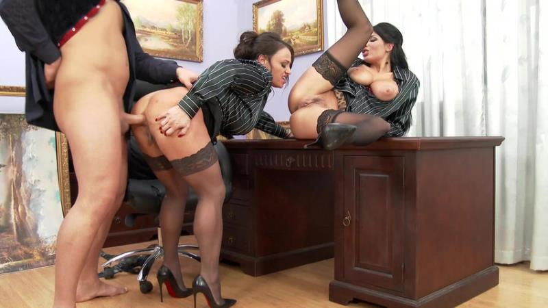 SinDrive: Anissa Kate, Nikita Devine Devine If The Boss Gets Mean, Office Chicks Become Ass'istants. OMG! [FullHD 1080p]