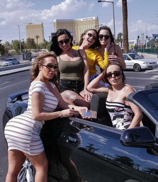 Alana Cruise, Cytherea, Lily Lane, Richelle Ryan, Pristine Edge - Divorce Party Dick Down (2018/HD)