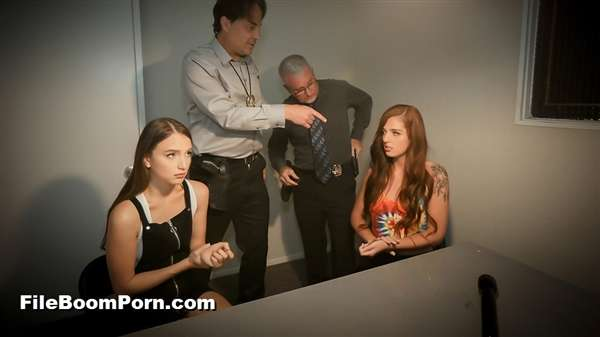 DaughterSwap, TeamSkeet: Izzy Lush, Scarlett Mae - Interrogation Penetration Pt.1 [SD/540p/564 MB]