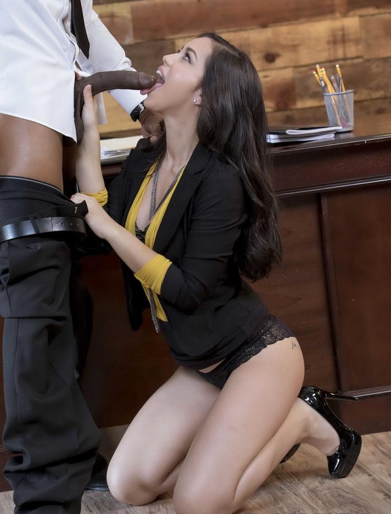 BlackIsBetter: Alina Lopez Learning on the Job [FullHD 1080p]