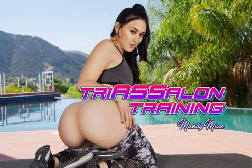 Mandy Muse - Triassalon Training (03.12.2018/BaDoinkVR.com/3D/VR/UltraHD 2K/1920p)