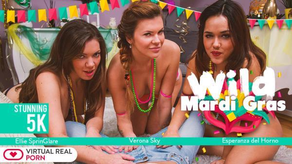 Ellie Springlare & Esperanza del Horno & Verona Sky - Wild Mardi Gras (2018/FullHD)