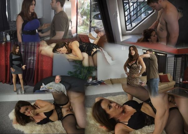 Rachel Steele: Satisfied By My Son (FullHD / 1080p / 2018) [RedMilfProduction]