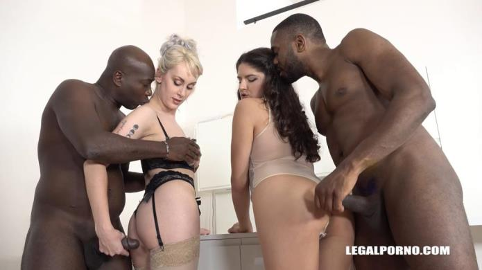 High sex & good fucking with two sexy bitches Francesca Dicaprio & Maxim Law Part 1 IV248 / Francesca Dicaprio, Maxim Law, Joachim Kessef, Darnell Black / 10-12-2018 [HD/720p/MP4/1.39 GB] by XnotX