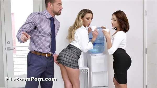 BadMilfs, TeamSkeet: Isabelle Deltore, Isabella Nice - Head Gets You Ahead [SD/480p/618 MB]