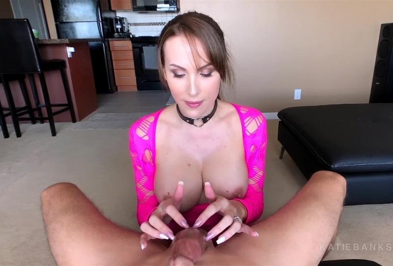 Katie Banks - Neon Pink Mesh Joi BJ (KatieBanks) [FullHD 1080p]