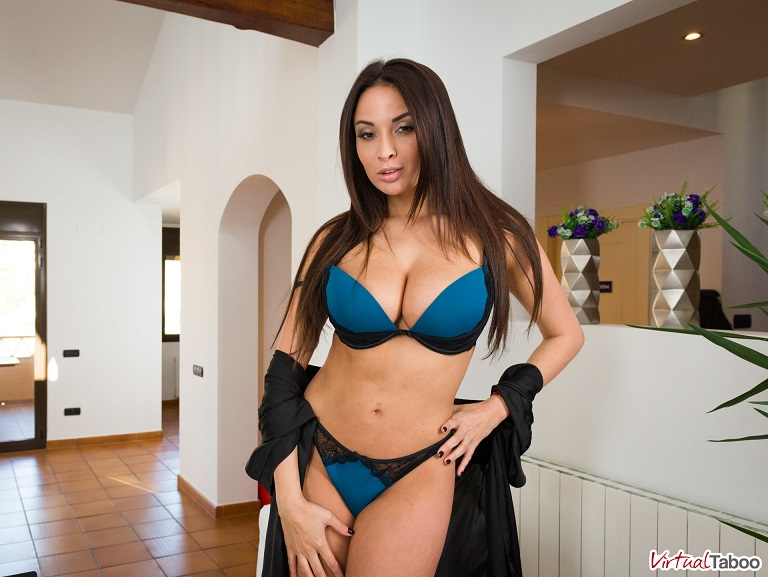 VirtualTaboo: Anissa Kate Motivation lesson from step mom Anissa [FullHD 1080p]