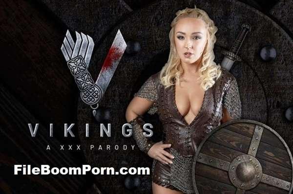 vrcosplayx: Amber Deen - Vikings A XXX Parody [UltraHD 2K/1440p/3.54 GB] (VR Porn)