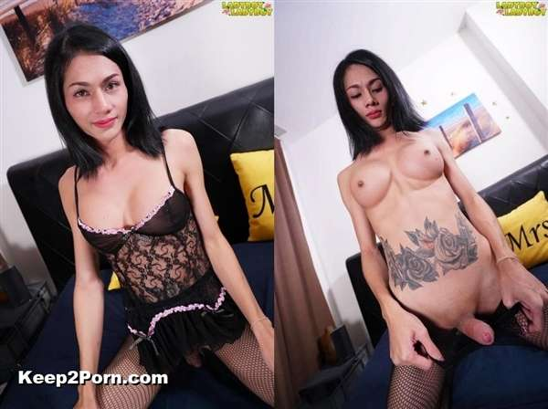 Sky - Sky In Fishnets! [LadyBoy-LadyBoy / HD]