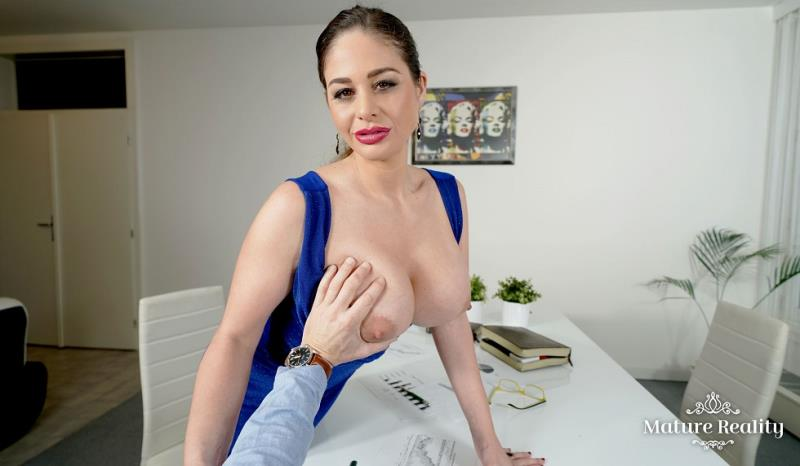 Cathy Heaven - Finances With Boobs (MatureReality) [FullHD 2700p]