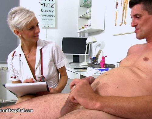 Zita M - CFNM sex at sperm bank clinic with Czech MILF Zita (1.12 GB)