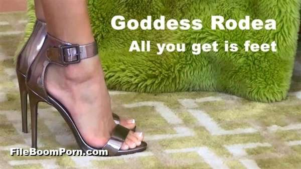 GoddessRodea: Goddess Rodea - All you get is feet [FullHD/1080p/1.09 GB]