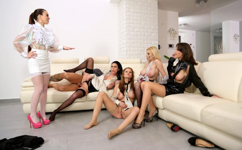 Tiffany Doll, Chintia Doll, Donna Bell, Abbie Cat, Violet Black - Big Tits Special: Put The Rough Slut In Her Place With Some Anal Domination - Part 1 (SinDrive) [FullHD 1080p]