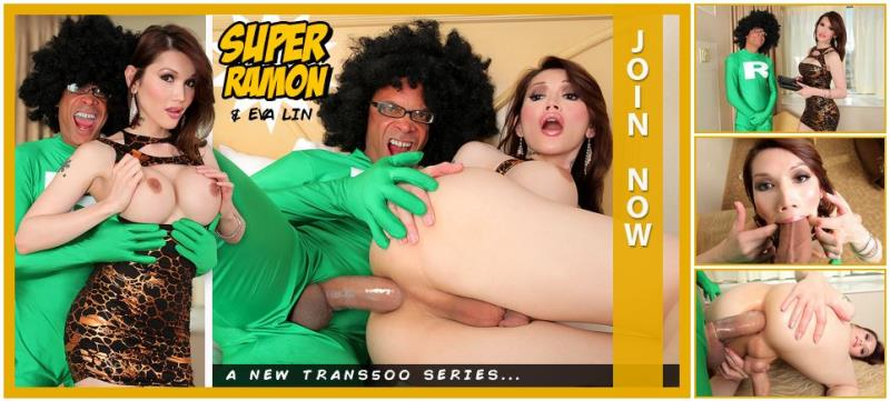 Eva lin , Ramon - Eva Lin in: Super Ramon (Trans500) [HD 720p]