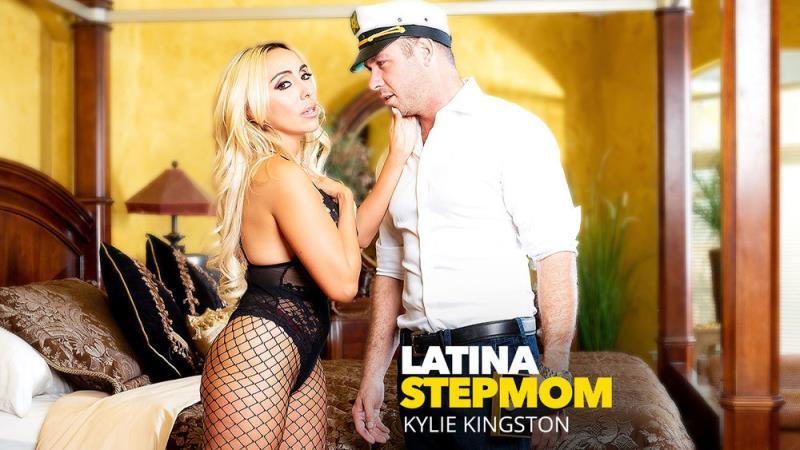 NaughtyAmerica: Kylie Kingston - Latina Stepmom Kylie Kingston Fucks Her Stepson (2018) 1080p WebRip