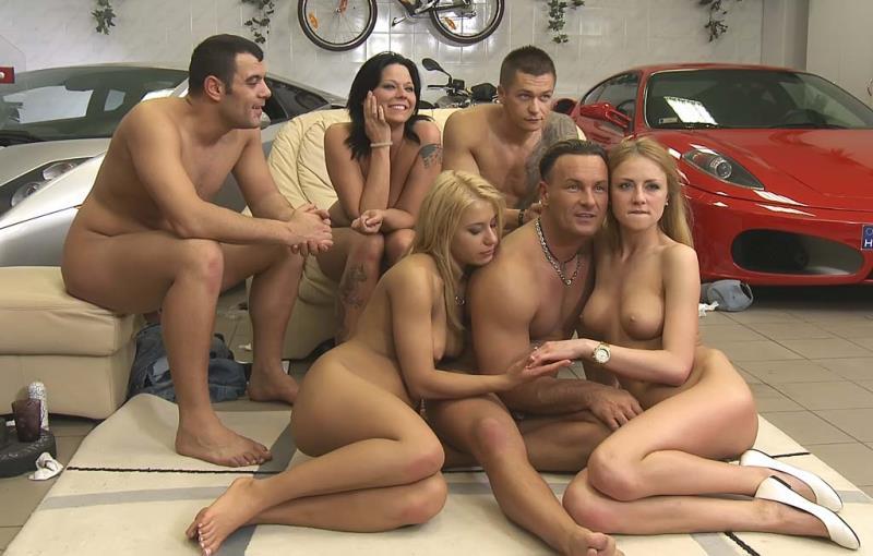 Simony Diamond, Nikky Thorne, Meg Laren - High-Tech Sex Race - Game 49 (FuckingGamble) HD 720p