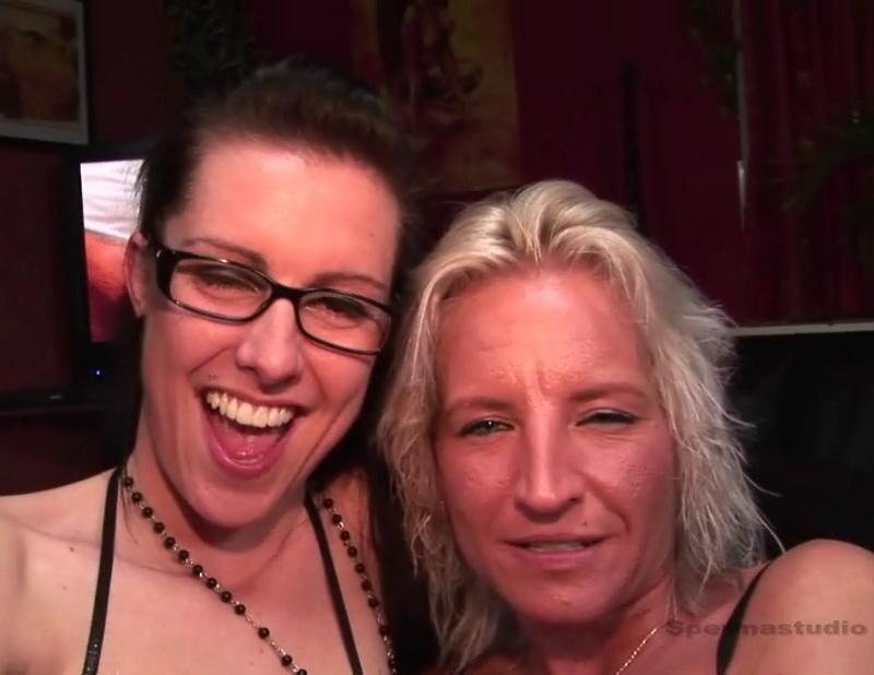 [Sperma-studio] - Betty Blow, Nicole - Bukkake (2018 / HD 720p)