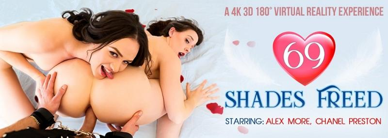 VRBangers: 69 Shades Freed - Alex More, Chanel Preston [2018] (FullHD 1080p)