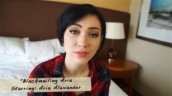 Aria Alexander - Blackmailing Aria [FullHD 1080p] 2018