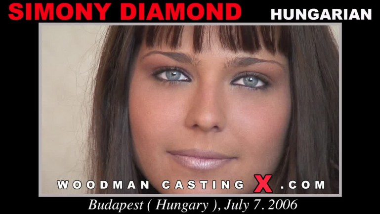 Simony Diamond: Casting + Sex Scene (FullHD / 1080p / 2018) [WoodmanCastingX]