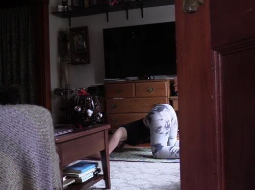 Unknown - Spying on Moms Yoga Practice (393 MB)