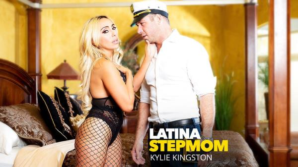 Kylie Kingston - Latina Stepmom Kylie Kingston Fucks Her Stepson [FullHD 1080p] 2018