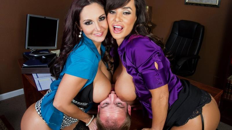 Lisa Ann, Ava Addams - Ogling in the Office (Brazzers) [FullHD 1080p]