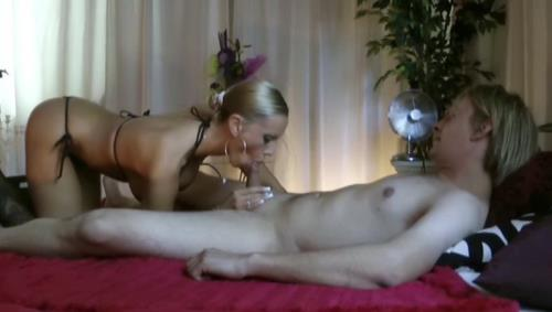 Amateurs - German Mom Teach Son to Fuck and Lost Virgin (128 MB)