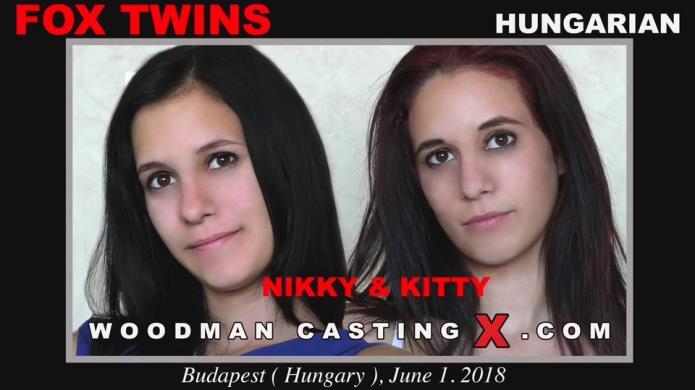 Fox Twins - Casting X 190 * Updated * / Nikky Fox, Kitty Fox / 23-01-2019 [SD/540p/MP4/1.68 GB] by XnotX
