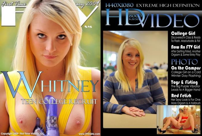 Whitney - Teen College Recruit (2009) [HD/720p/mp4/2.29 GB] by Utrodobroe