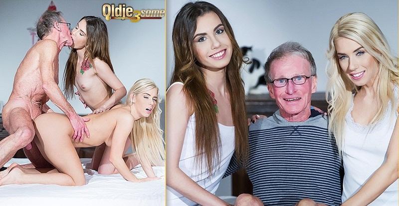 Nesty, Elle Rose: A Sex Chat (HD / 720p / 2019) [Oldje-3some]