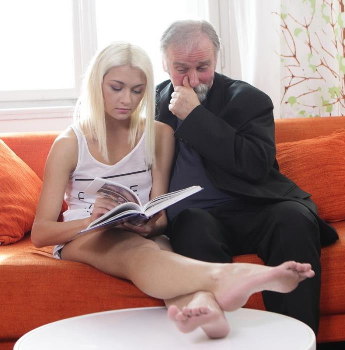 OldGoesYoung.com - Tanya - Hardcore [2014 HD] (Cum in Mouth, Old & Young, All Sex)