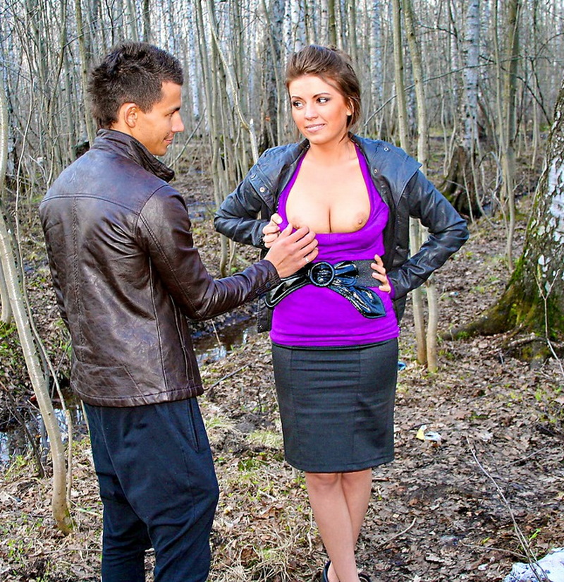 Nastya: In the park with bosomy stranger ... (SD / 486p / 2019) [MyPickupGirls]