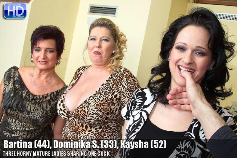 Mature: Bartina, Dominika S., Kaysha mat-profgroup007 [HD 720p]