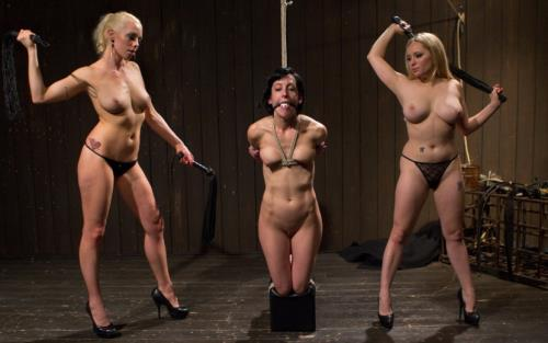 Lorelei Lee, Aiden Starr, Elise Graves - LezDom Take Down (HD)