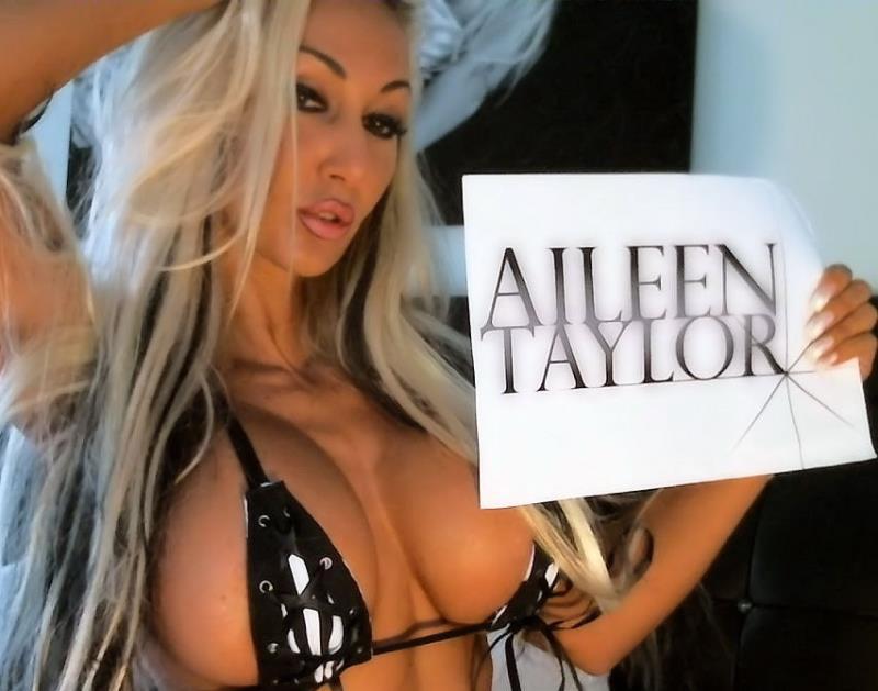 Aileen-Taylor - Nass, warm, feucht und super fick geil in der Badewanne (MyDirtyHobby) [HD 720p]