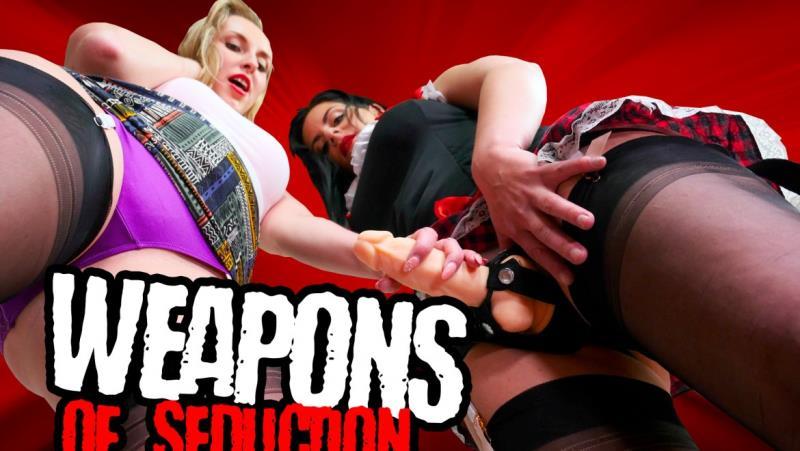 Alex Black, Jenny Simons - Weapons of Seduction (StockingsVR) [FullHD 1080p]