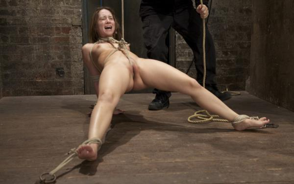 Remy Lacroix - Cute girl next door, bound, face fucked, made to cum over over, brutal bondage and pussy torture! [HD 720p] 2019