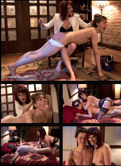 19 year old male gigolo prostate milked for the very first time by Maitresse Madeline / Maitresse Madeline, Garrett Nova / 15-01-2019 [SD/540p/MP4/634 MB] by XnotX