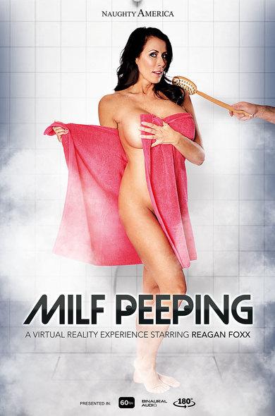 Milf Peeping / Reagan Foxx / 16-01-2019 [3D/FullHD/1080p/MP4/1.92 GB] by XnotX
