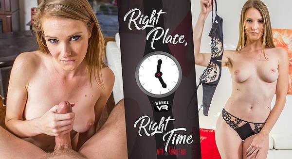 WankzVR: Ashley Lane - Right Place, Right Time (FullHD) - 2019