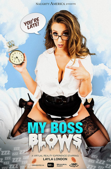 My Boss Blows / Layla London / 16-01-2019 [3D/FullHD/1080p/MP4/2.12 GB] by XnotX