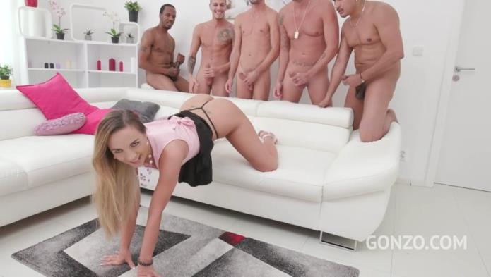Kristy Black 5on1 fuck session with DP, DAP, DVP & triple penetration SZ2074 / Kristy Black, Ed Junior, Charlie Mac, Chris Diamond, Luca Ferrero, Potro / 19-01-2019 [SD/480p/MP4/1.04 GB] by XnotX