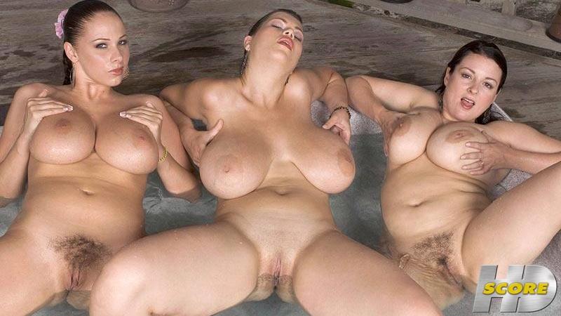 Gianna Rossi, Lorna Morgan, and Terry Nova - Hot Tub Hotties (ScoreHD) [HD 720p]