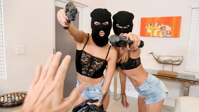 Charity Crawford, Evelin Stone: Prank Whores Sexy Robbery (FullHD / 1080p / 2019) [Mofos]