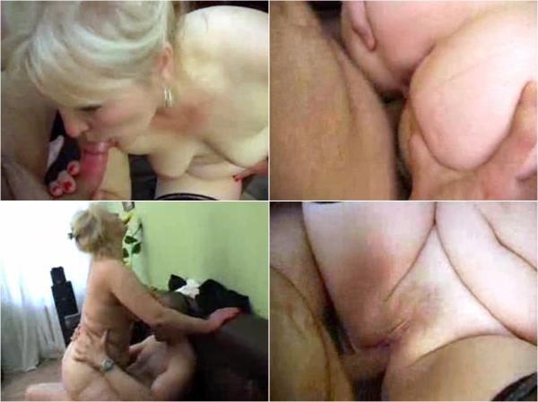 Amateurs - Mom knows how to please her son (SD)