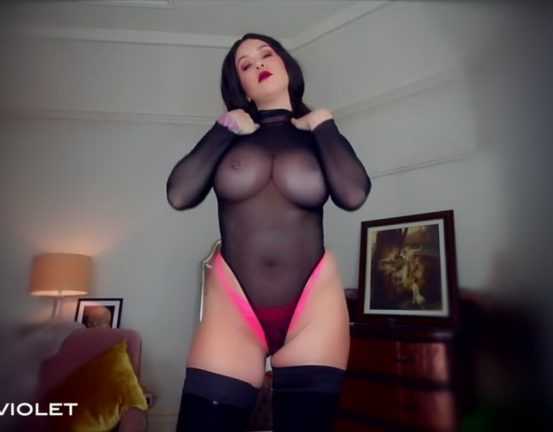 Clips4Sale: Madam Violet Embracing Your True tist-fucker Nature [HD 720p]