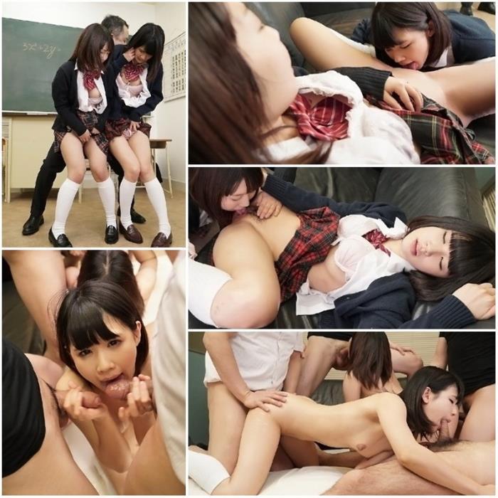 Sae Motomura, Rena Yamamoto - School Double Play (FullHD 1080p) - Tokyo-Hot - [2019]